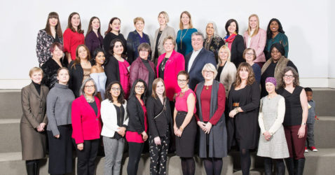 Women of Distinction Awards 2018 Group Photo