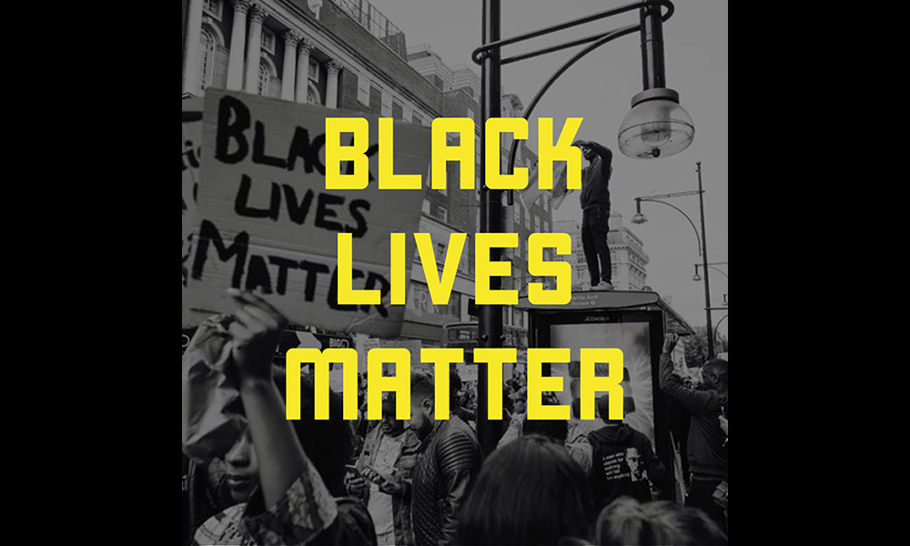 Black Lives Matter logo courtesy of Black Lives Matter