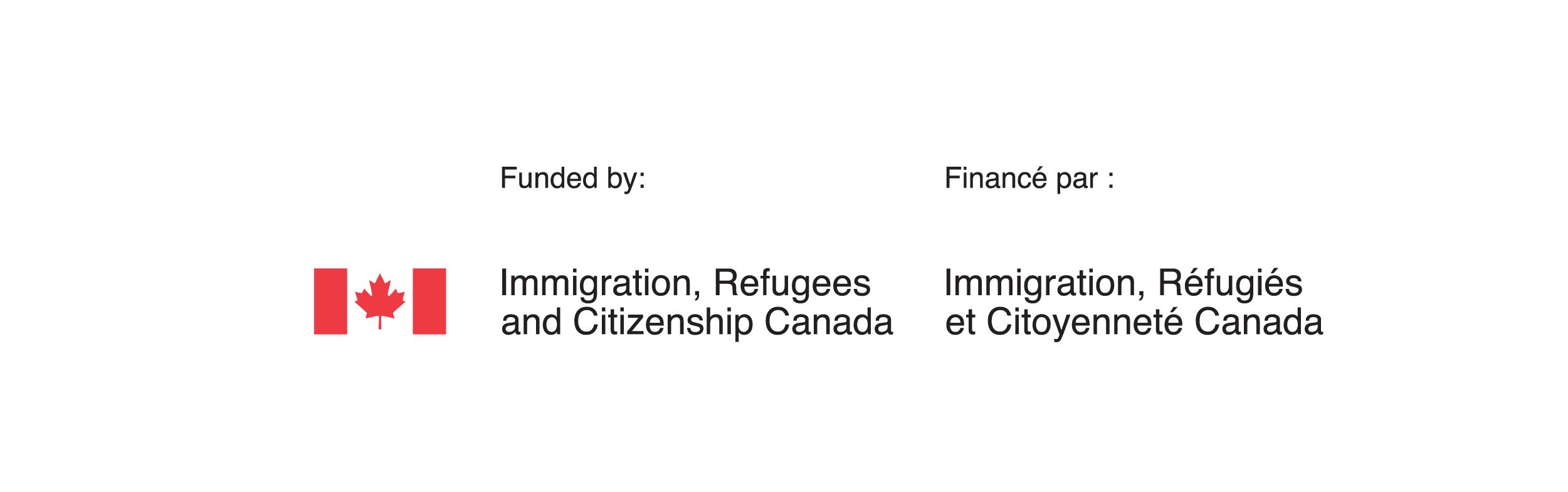 Immigration, Refugees and Citizenship Canada logo | YWCA Hamilton
